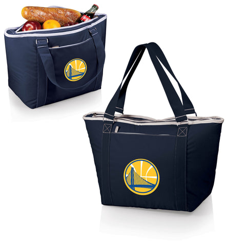 Golden State Warriors Insulated Tote Bag / Beach Bag - Topanga by Picnic Time