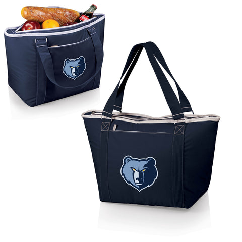 MEMPHIS GRIZZLIES Insulated Tote Bag / Beach Bag - Topanga by Picnic Time