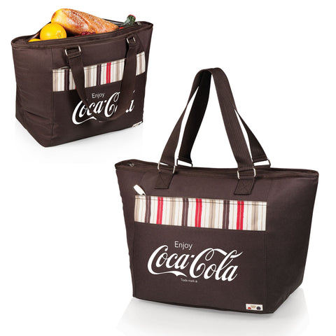 Coca-Cola Insulated Tote Bag / Beach Bag Moka - Topanga by Picnic Time