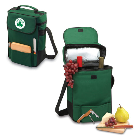 Boston Celtics Wine and Cheese Tote - Duet by Picnic Time