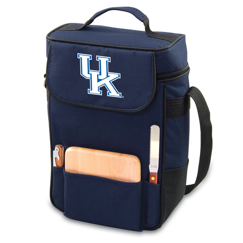 Kentucky Wildcats Wine and Cheese Tote - Duet by Picnic Time