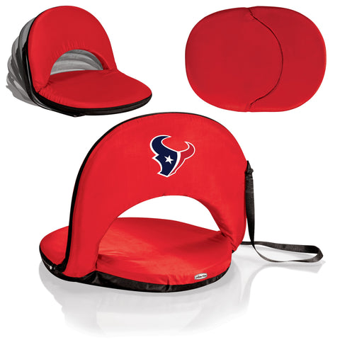 Houston Texans Stadium Seat / Beach Chair / Gaming Chair  - Oniva Seat by Picnic Time