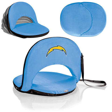 San Diego Chargers Stadium Seat / Beach Chair / Gaming Chair  - Oniva Seat by Picnic Time