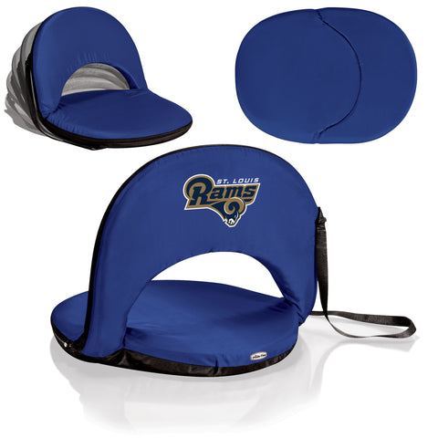 St. Louis Rams Stadium Seat / Beach Chair / Gaming Chair  - Oniva Seat by Picnic Time
