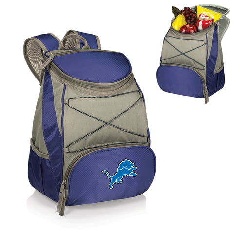 Detroit Lions Insulated Backpack  - PTX by Picnic Time