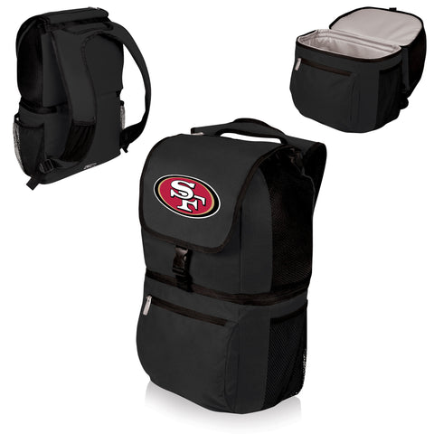 San Francisco 49ers Insulated Backpack  - Zuma by Picnic Time