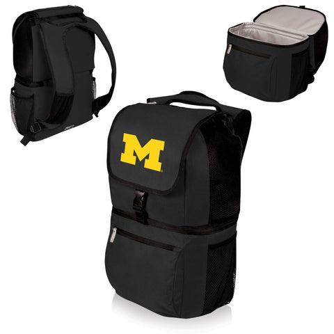 Michigan Wolverines Insulated Backpack  - Zuma by Picnic Time