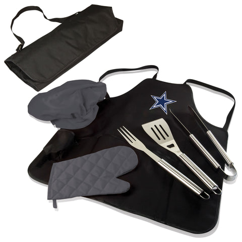 Dallas Cowboys BBQ Apron Tote  - by Picnic Time