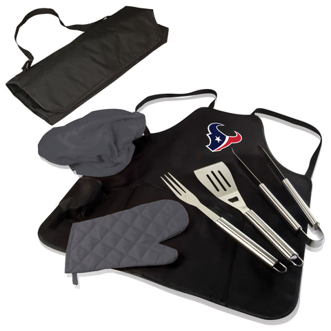 Houston Texans BBQ Apron Tote  - by Picnic Time