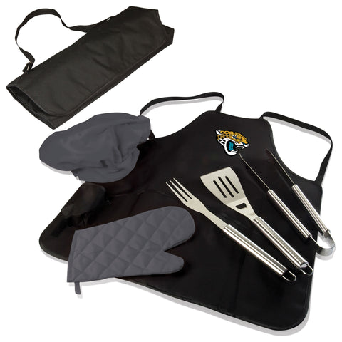 Jacksonville Jaguars BBQ Apron Tote  - by Picnic Time