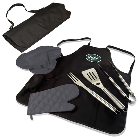 New York Jets BBQ Apron Tote  - by Picnic Time