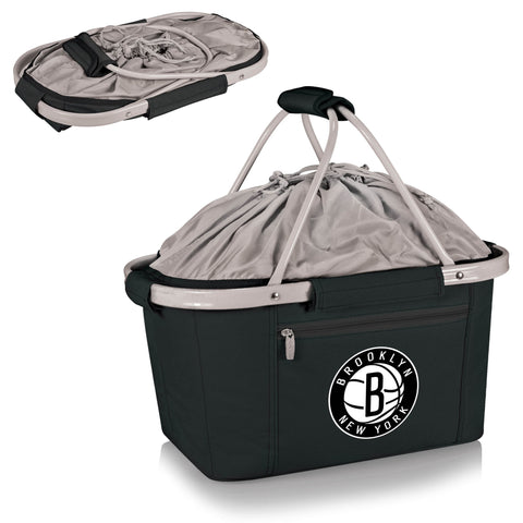 Brooklyn Nets Metro Basket by Picnic Time