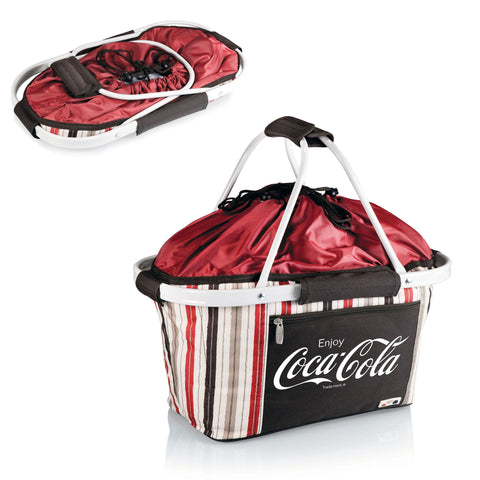 Coca-Cola Moka Metro Basket by Picnic Time