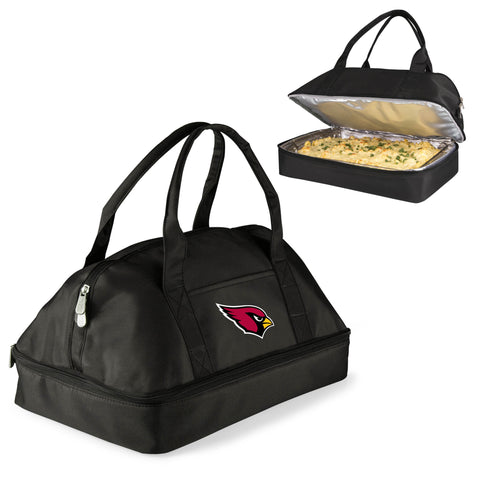 Arizona Cardinals Two-Tiered Casserole Tote - POTLUCK CASSEROLE TOTE