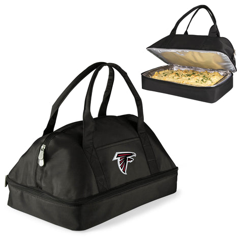 Atlanta Falcons Two-Tiered Casserole Tote - POTLUCK CASSEROLE TOTE