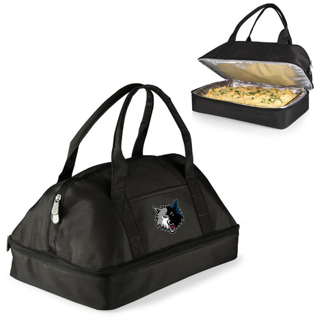 MINNESOTA TIMBERWOLVES Two-Tiered Casserole Tote - POTLUCK CASSEROLE TOTE