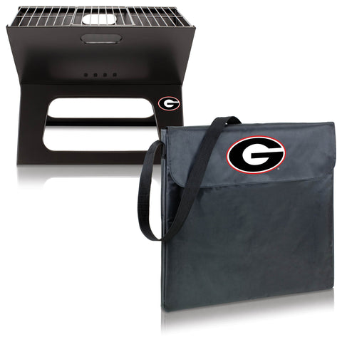 Georgia Bulldogs X-Grill by Picnic Time