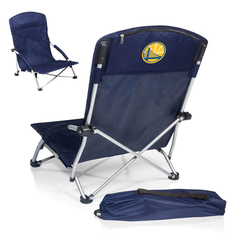 Golden State Warriors Beach Chair - Tranquility Chair by Picnic Time