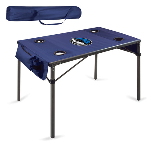 Dallas Mavericks Travel Table - by Picnic Time