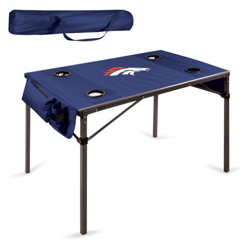 Denver Broncos Travel Table - by Picnic Time