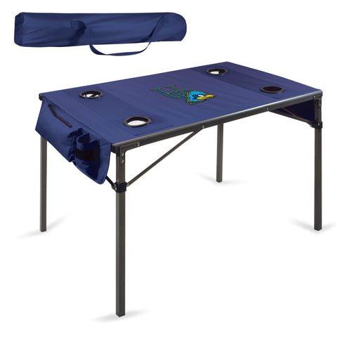 Delaware Blue Hens Travel Table - by Picnic Time
