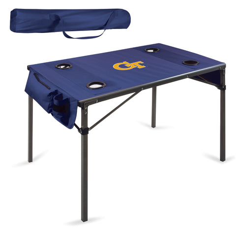 Georgia Tech Yellow Jackets Travel Table - by Picnic Time