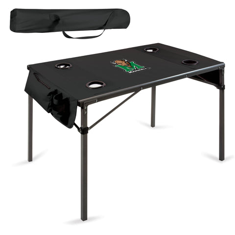 Marshall Thundering Herd Travel Table - by Picnic Time
