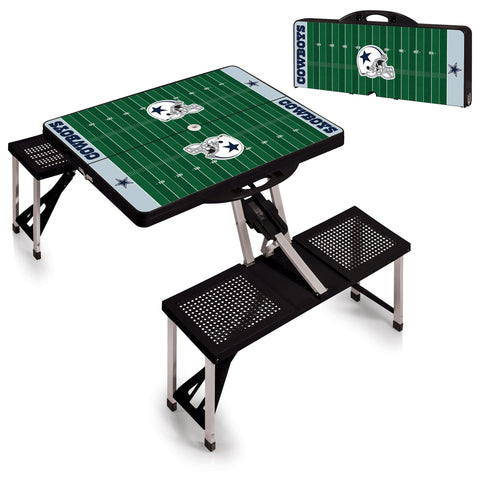 Dallas Cowboys Folding Picnic Table - by Picnic Time