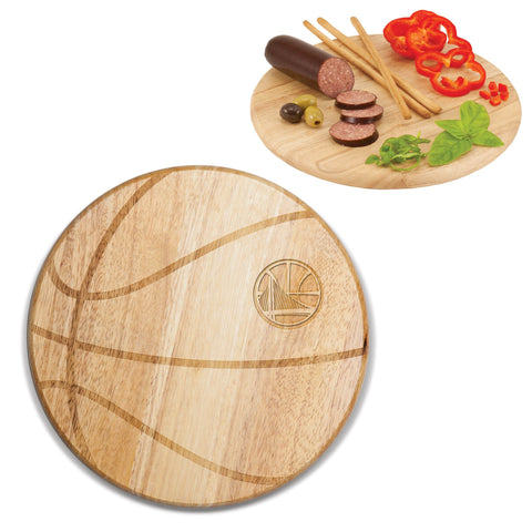 Golden State Warriors Cutting Board -Free Throw by Picnic Time