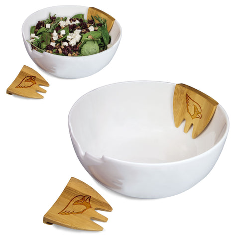 Arizona Cardinals Salad Bowl Set- Romano