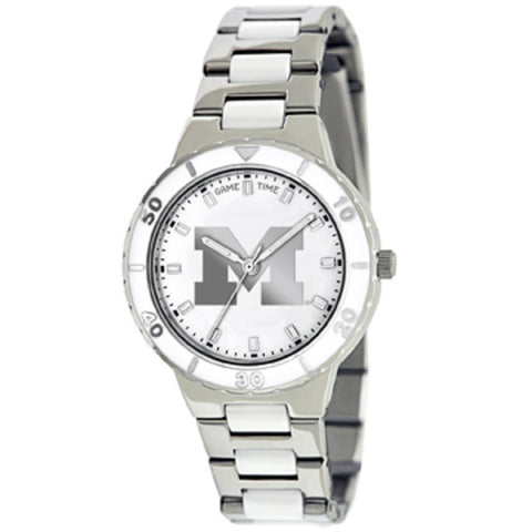 PEARL UNIV OF MICHIGAN Ladies Watch