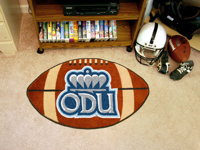 "Old Dominion Football Rug 20.5""x32.5"""