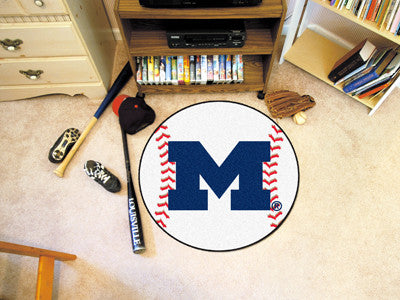 "Michigan Baseball Mat 27"" diameter"