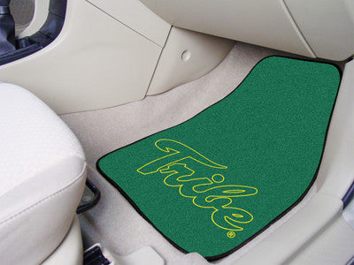 "William & Mary 2-pc Carpeted Car Mats 17""x27"""