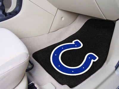 "NFL - Indianapolis Colts 2-pc Carpeted Car Mats 17""x27"""