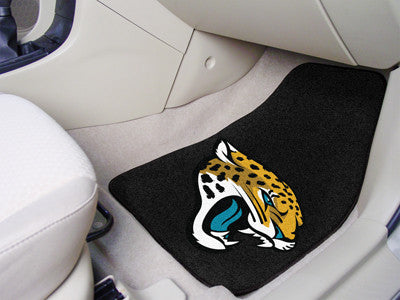 "NFL - Jacksonville Jaguars 2-pc Carpeted Car Mats 17""x27"""