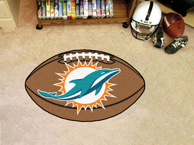 "NFL - Miami Dolphins Football Rug 20.5""x32.5"""