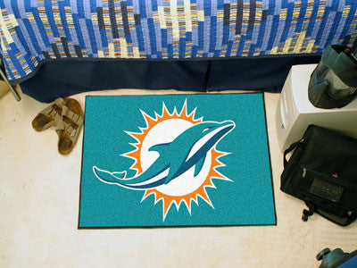 "NFL - Miami Dolphins Starter Rug 19""x30"""