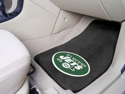 "NFL - New York Jets 2-pc Carpeted Car Mats 17""x27"""
