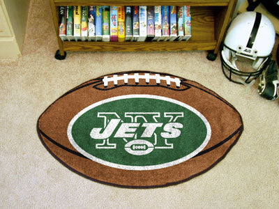 "NFL - New York Jets Football Rug 20.5""x32.5"""