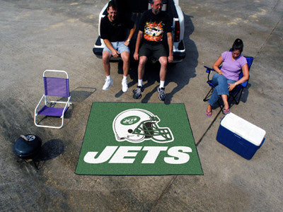 NFL - New York Jets Tailgater Rug 5'x6'