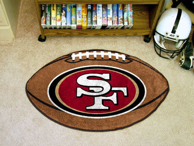 "NFL - San Francisco 49ers Football Rug 20.5""x32.5"""
