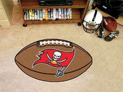 "NFL - Tampa Bay Buccaneers Football Rug 20.5""x32.5"""