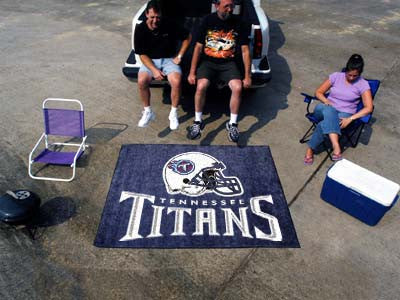 NFL - Tennessee Titans Tailgater Rug 5'x6'