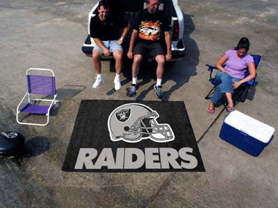 NFL - Oakland Raiders Tailgater Rug 5'x6'