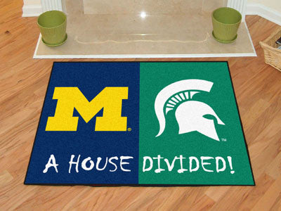 "Michigan - Michigan State House Divided Rug 33.75""x42.5"""