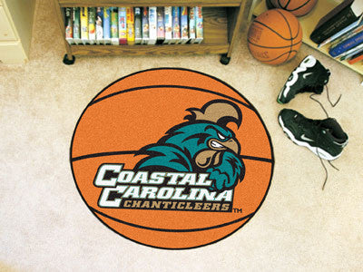 "Coastal Carolina Basketball Mat 27"" diameter"