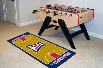 "Arizona Basketball Court Runner 30""x72"""