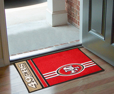 "NFL - San Francisco 49ers Uniform Starter Rug 19""x30"""