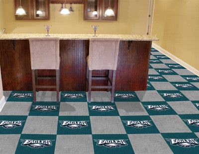 "NFL - Philadelphia Eagles Carpet Tiles 18""x18"" tiles"